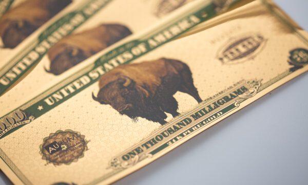 2020 American Bison 1 gram Aurum®