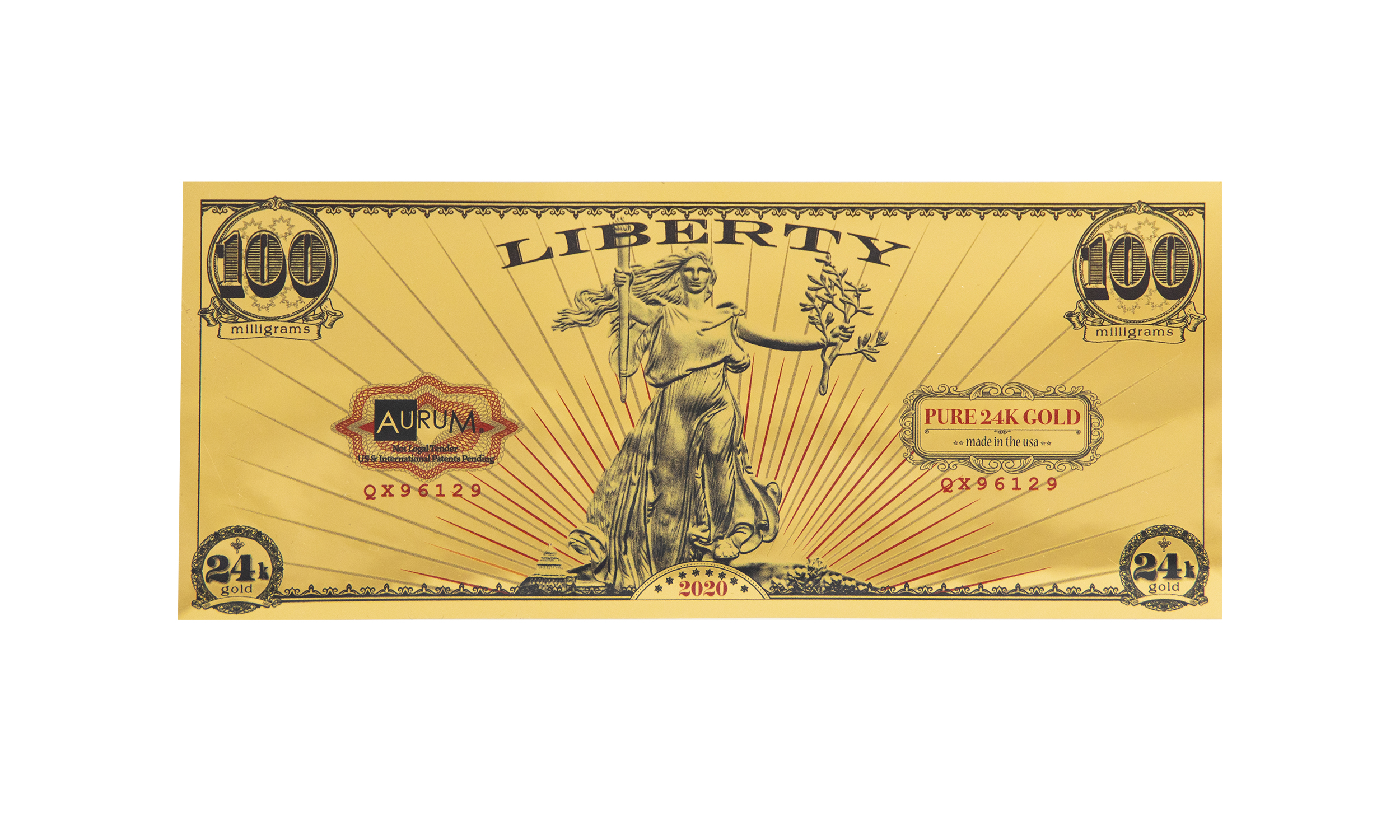 2020 St. Gauden's Liberty Aurum®