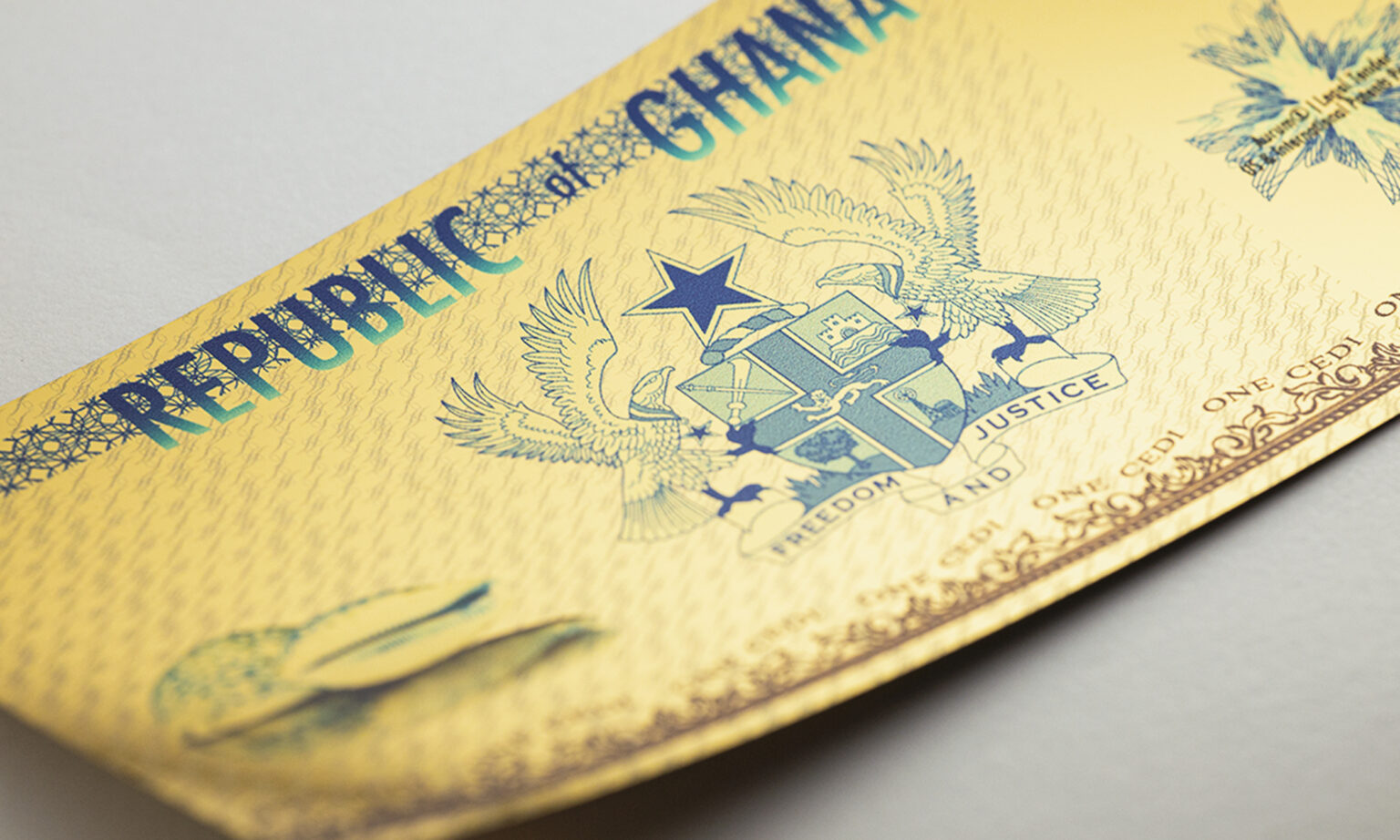 Republic of Ghana - 1 Cedi